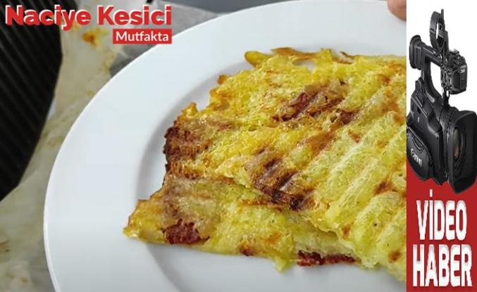 """Naciye Kesici'den """"Ekmeksiz Patates Tost"""" Tarifi"""