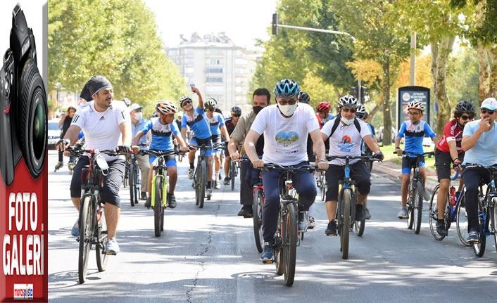 Kahramanmaraş, Avrupa Hareketlilik Haftası'nda pedalladı